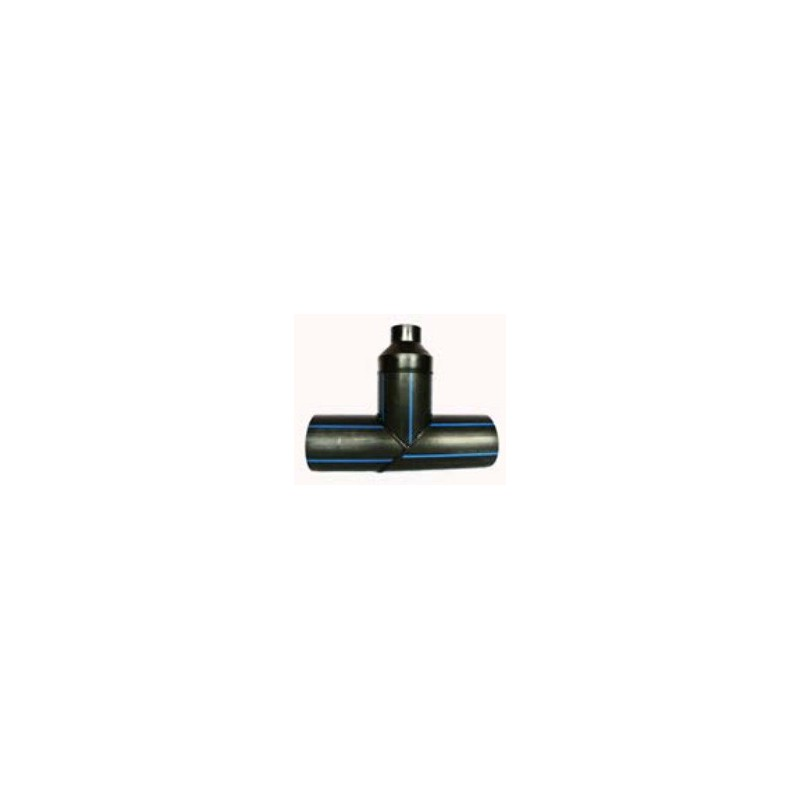 Trójnik redukcyjny PE HD 100 PN 10 DN 200/200/110 kąt 90