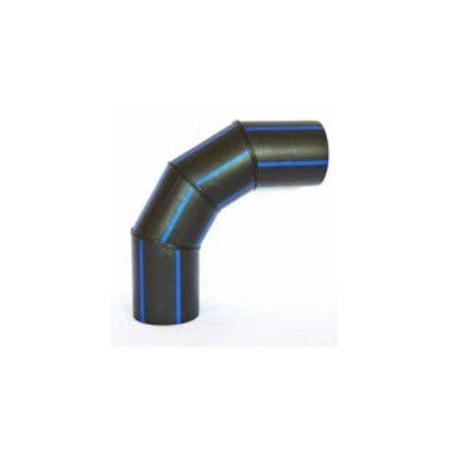 Segmentierter Lichtbogen PE HD 100 PN 16 DN 160 Winkel 67