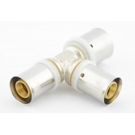 Trójnik zaciskowy PEX fi 20x16x16mm