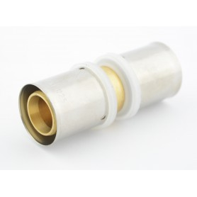 Złączka prosta zaciskowa PEX fi 25mm