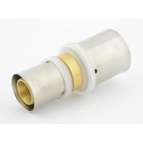 Złączka prosta zaciskowa PEX fi 25x20mm