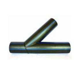 Trójnik segmentowy kątowy fi 125 kąt 45° PN 10