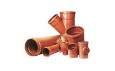 External sewer pipes and fittings PVC, PP from fi 110 fi 800mm