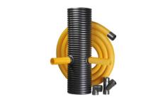 PVC drenážny systém
