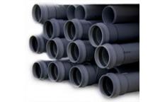 PVC tlakové rúry a kovania