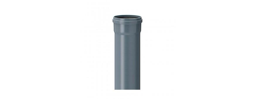 PVC internal sewage pipes from fi 32 to fi 110mm