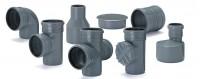 PP kanalizačné armatúry od Fi 32 do Fi 110mm
