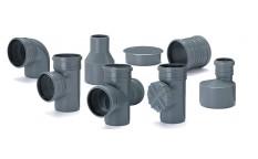 Kształtki kanalizacyjne PP od fi 32 do fi 110mm