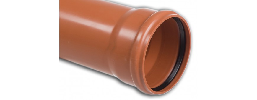 PVC-U Drainage Pipes Lite from fi 110 to fi 500mm