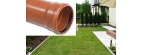 Sewer pipes (solid) SN 2-type Lightweight (L) PVC-U