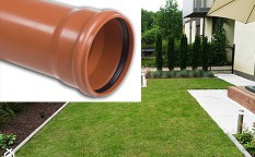 Rury kanalizacyjne (lite) SN 2 - Typ Lekki (L) PVC-u