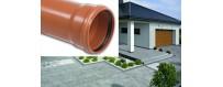 Sewer pipes (solid) SN 4-Medium (N) PVC-U