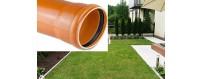 Sewer pipes (foamed core) SN 2-type Lightweight (L) PVC-U