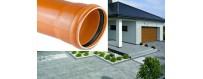 Sewage pipes (foamed core) SN 4-Medium type (N) PVC-U