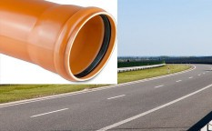 Rury kanalizacyjne (rdzeń spieniony) SN 8 - Typ ciężki (S) PVC-u