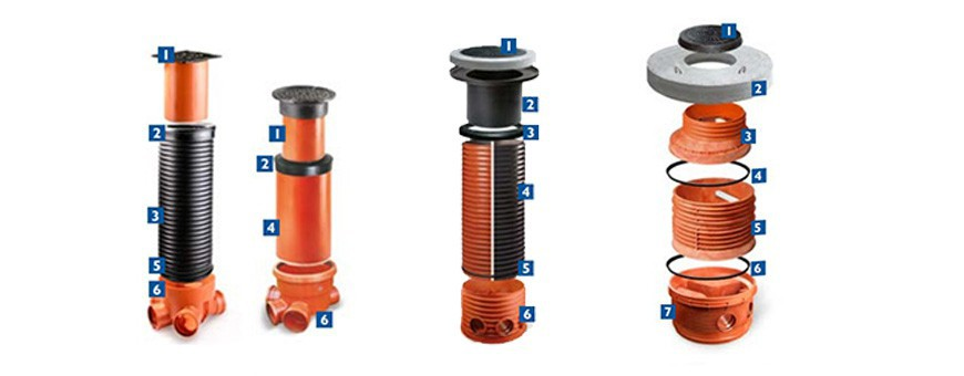 Sewer Wells 200, 315, 400, 425, 600, 630, 800 and 1000mm,
