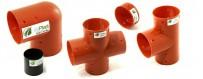 PVC odvodňovacie armatúry pre odvodňovacie pôdy