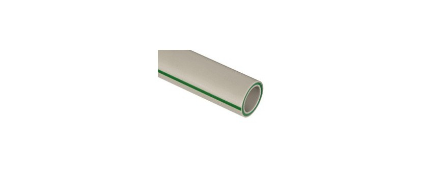 STABI tubes with glass fibre, PP-R welded-10 YEARS WARRANTY