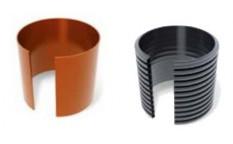 Rury trzonowe fi 400mm z PP i PVC-u, rury karbowane i gładkie.