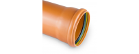 PP solid sewer pipes from fi 110 to fi 500mm
