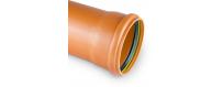 PP szilárd szennyvízcsatorna-csövek Fi 110-tól Fi 500mm-ig