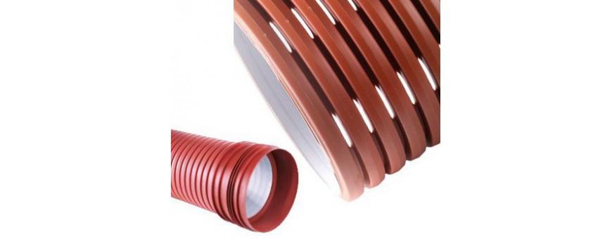 Perforated pass pipes PP SN8, SN10, SN12, SN16
