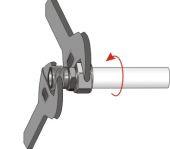Dokładne dokręcenie nakrętki powoduje zaciśnięcie pierścienia i uszczelnienie połączenia.